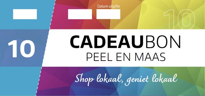Cadeaubon Peel en Maas visual €10