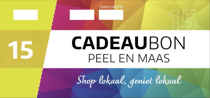Cadeaubon Peel en Maas visual €15