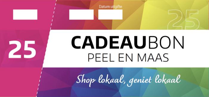 Cadeaubon Peel en Maas visual €25